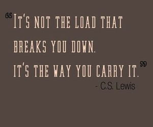 carry, cs lewis, and quotes image