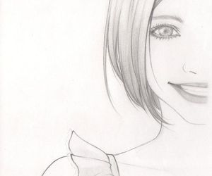 drawing, smile, and art image