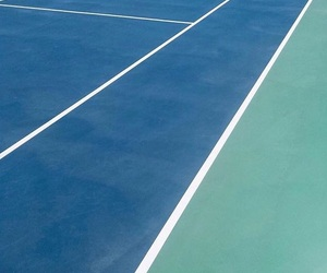aesthetic, blue, and court image