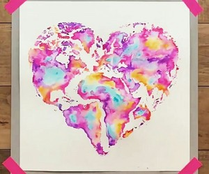 universal love, peace, and people image