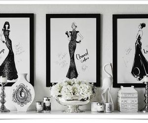 art, Couture, and drawing image