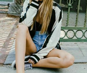 beauty, black, and moda image