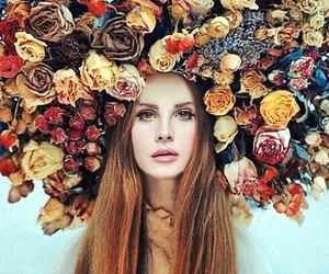 lana del rey, flowers, and ️lana del rey image