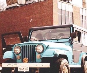 teen wolf, jeep, and stiles stilinski image