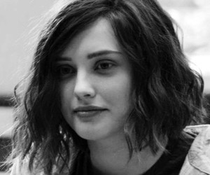 black and white, 13 reasons why, and katherine langford image