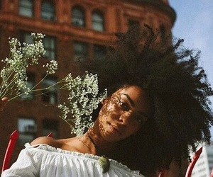 Afro, kinks, and beautiful hair image
