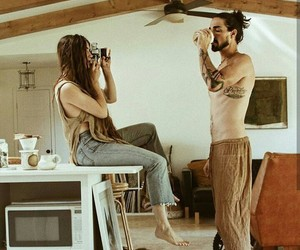 boho, couple, and goals image