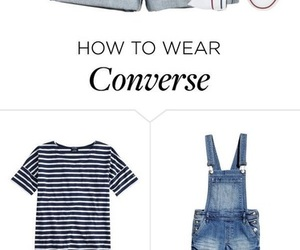 blue, converse, and fashion image