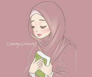 الحجاب, رَمَضَان, and اﻹيمان image
