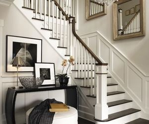 stairs, home, and house image