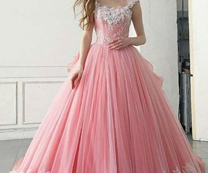 ball gown, dress, and prom dress image