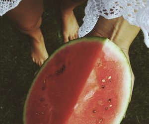 delicious, summer, and watermelon image
