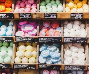 lush, tumblr, and bath bombs image