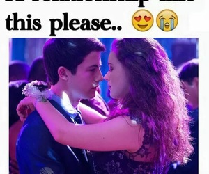 13 reasons why, dylan minnette, and relationship goals image