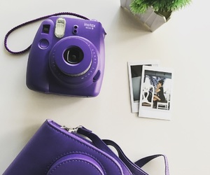 violet and instaxmini8 image