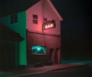 grunge, aesthetic, and bar image