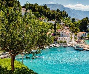 summer, Croatia, and split image