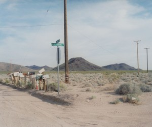 abandoned, apocalyptic, and desert image