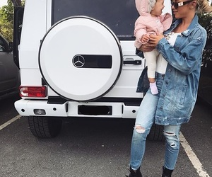 tammy hembrow, baby, and car image