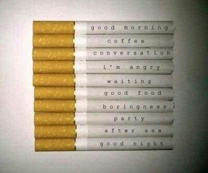 cigarette, smoke, and party image