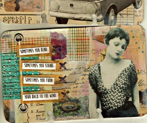 art, atc, and Collage image