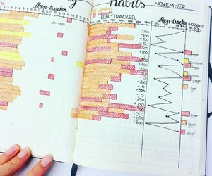 diary, motivation, and healthy life image