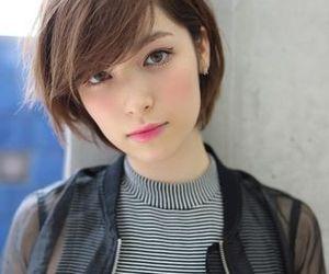hair, short hair, and cute image