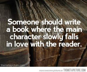 book, love, and reader image