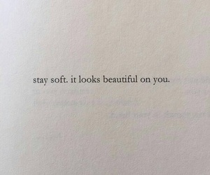 quotes, soft, and words image