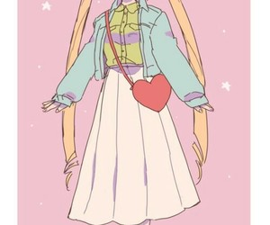 anime, tsukino usagi, and fashion image