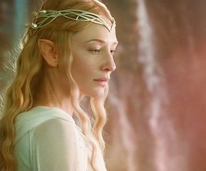 galadriel, cate blanchett, and the hobbit image