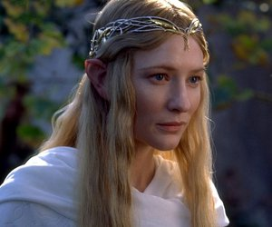 elf, lord of the rings, and lothlorien image