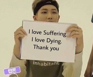 bts, meme, and reaction image