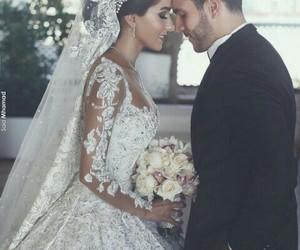 wedding, couple, and love image