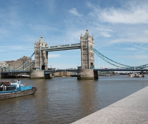 london, themse, and tower bridge image