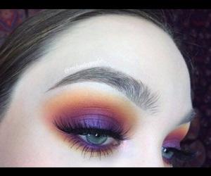 creative, eyelashes, and makeup image