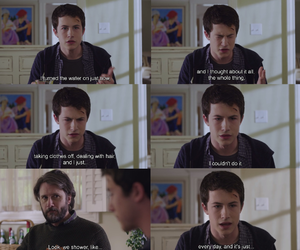 clay, clay jensen, and funny image