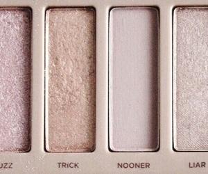 makeup, gold, and rose gold image