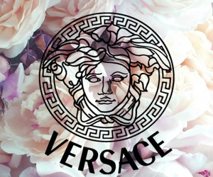 Versace, flowers, and luxury image