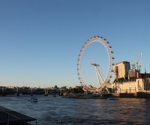 london, themse, and london eye image