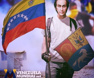 libertad, venezuela, and escudo image