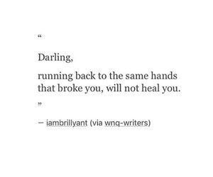 broke, darling, and hands image
