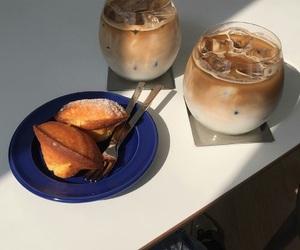 beagle, cafe, and girl image