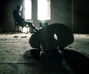 dark and mask image