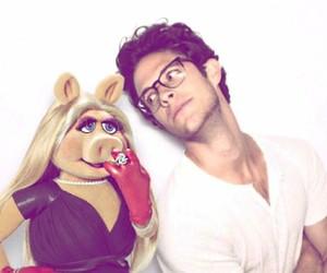 kyle harris, cutie, and Miss Piggy image