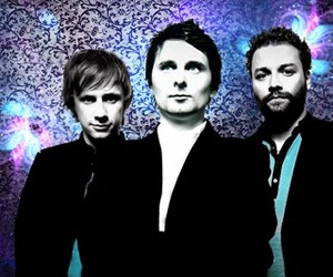 Dominic Howard, matthew bellamy, and muse image