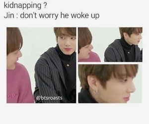 funny, jin, and why image