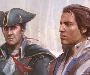 assassin's creed, ratonhnhaké:ton, and connor kenway image