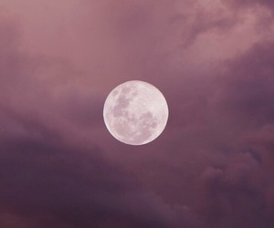 moon, sky, and aesthetic image