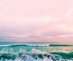beach and ocean image
